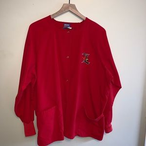 Other - Louisville cardinals scrub jacket